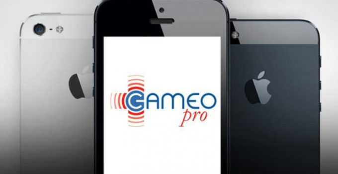 Application iPhone, travailleur isolé, Gameo Pro